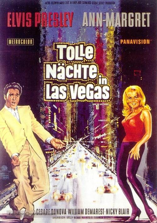 Viva Las Vegas - German Movie Poster