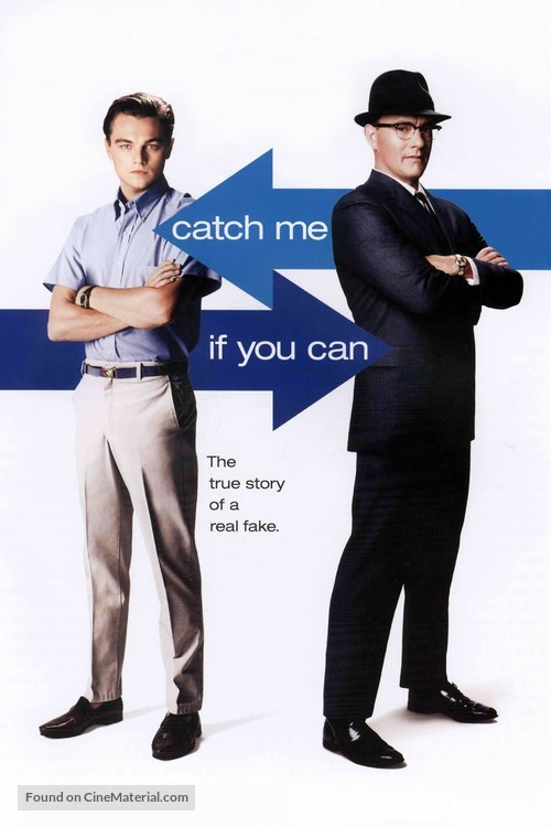 Catch Me If You Can - DVD cover