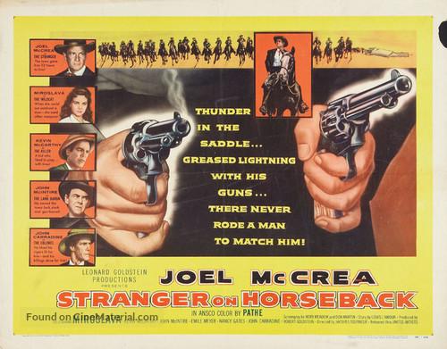 Stranger on Horseback - Movie Poster