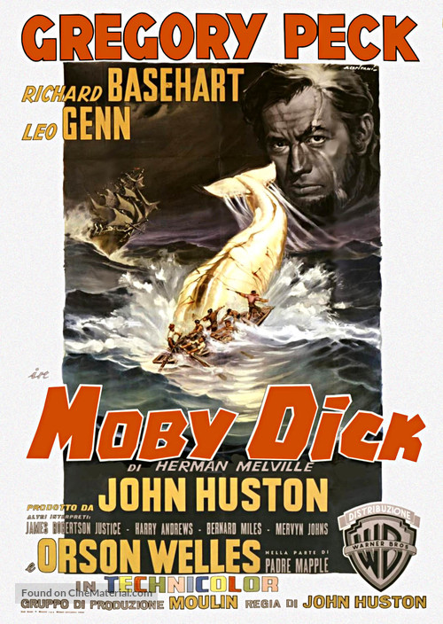 Moby Dick - Italian Movie Poster