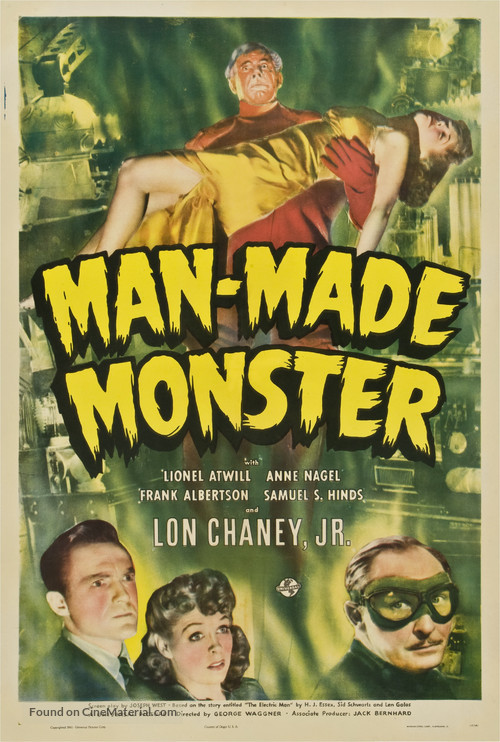 Man Made Monster - Movie Poster
