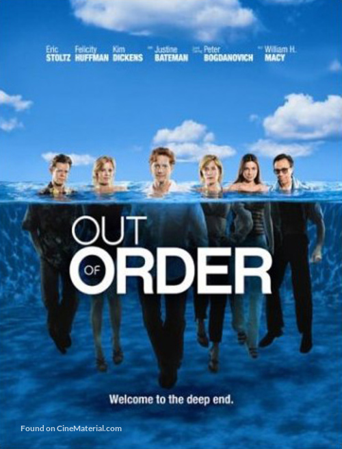 """""""Out of Order"""" - Movie Cover"""