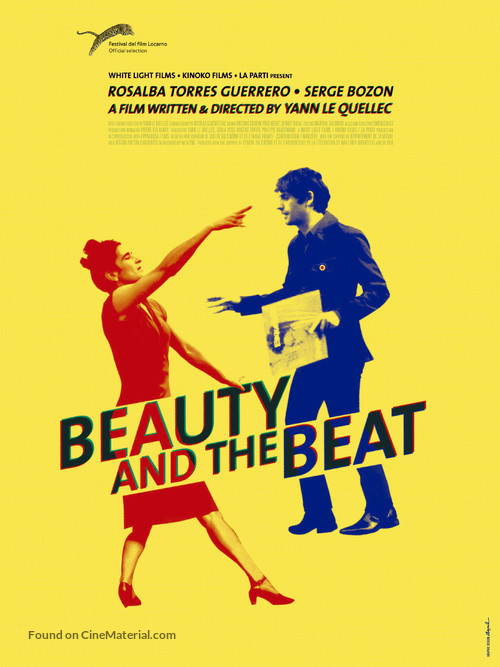 Je sens le beat qui monte en moi - British Movie Poster