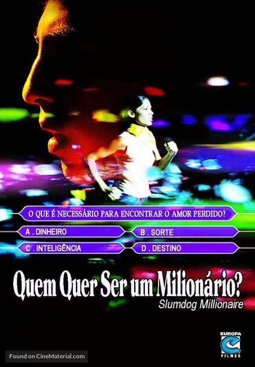 Slumdog Millionaire - Brazilian DVD cover