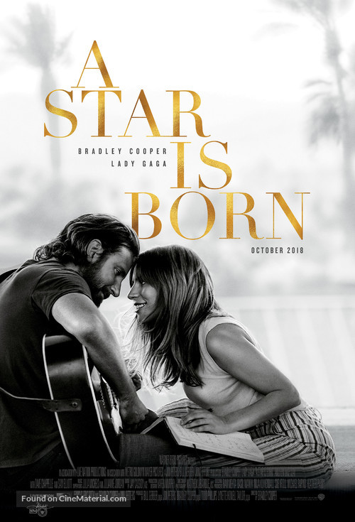 A Star Is Born - Indonesian Movie Poster