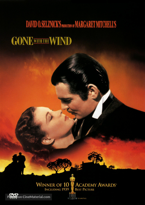 Gone with the Wind - DVD movie cover