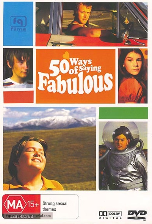 50 Ways of Saying Fabulous - New Zealand DVD movie cover