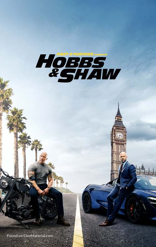Fast & Furious Presents: Hobbs & Shaw - Movie Cover