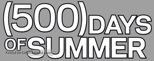 (500) Days of Summer - Logo