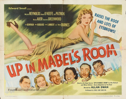 Up in Mabel's Room - Movie Poster