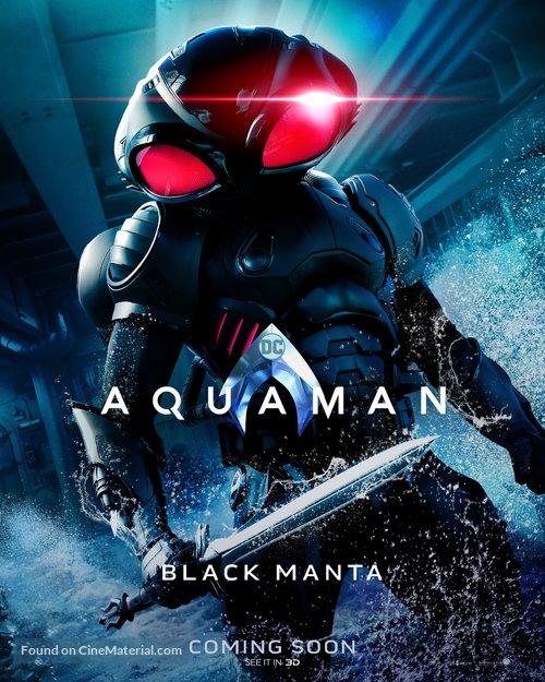 Aquaman - British Movie Poster
