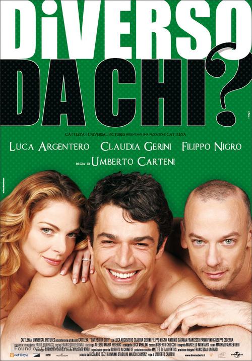 Diverso da chi - Italian Movie Poster