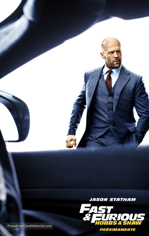Fast & Furious Presents: Hobbs & Shaw - Spanish Movie Poster