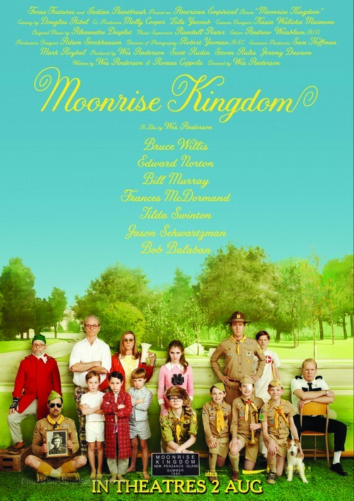 Moonrise Kingdom - Singaporean Movie Poster