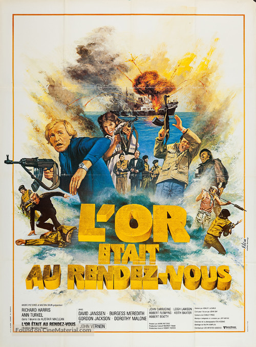 Golden Rendezvous - French Movie Poster