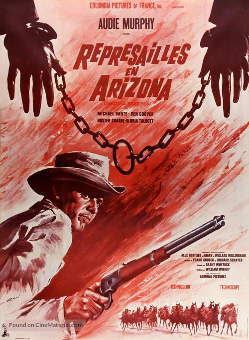 Arizona Raiders - French Movie Poster
