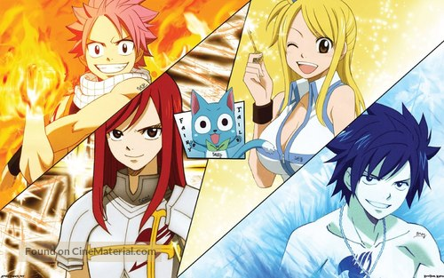 """Fairy Tail"" - French Movie Poster"