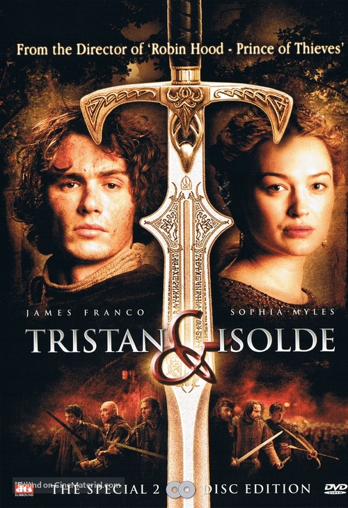 Tristan And Isolde - Dutch Movie Cover