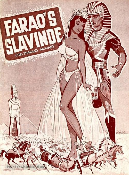 La donna dei faraoni - Danish Movie Poster