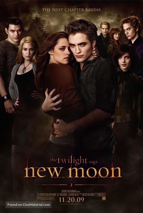 The Twilight Saga: New Moon - Movie Poster