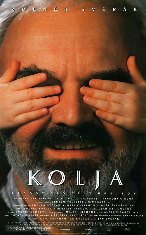 Kolja - Czech Movie Poster