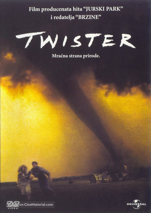 Twister - Croatian Movie Cover