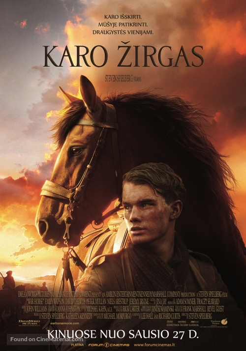 War Horse - Lithuanian Movie Poster