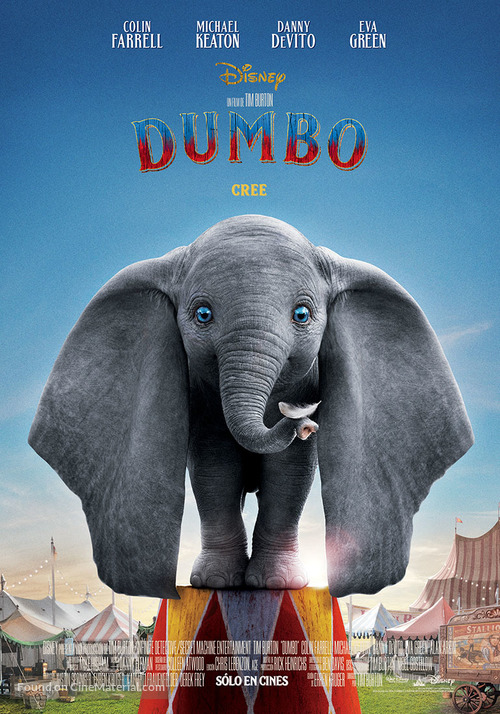 Dumbo - Argentinian Movie Poster
