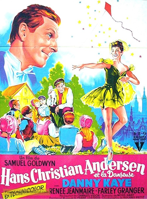 Hans Christian Andersen - French Movie Poster