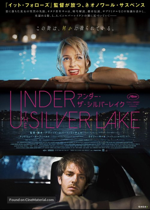 Under the Silver Lake - Japanese Movie Poster