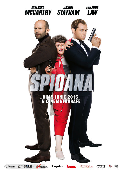 Spy - Romanian Movie Poster