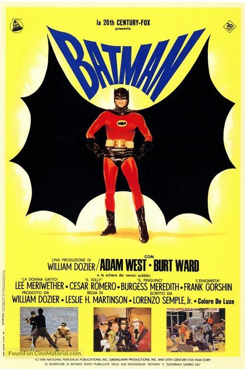 Batman - Italian Re-release movie poster