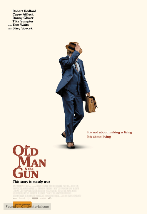 Old Man and the Gun - Australian Movie Poster
