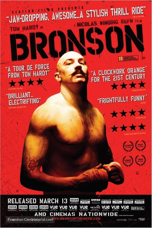 Bronson - British Movie Poster