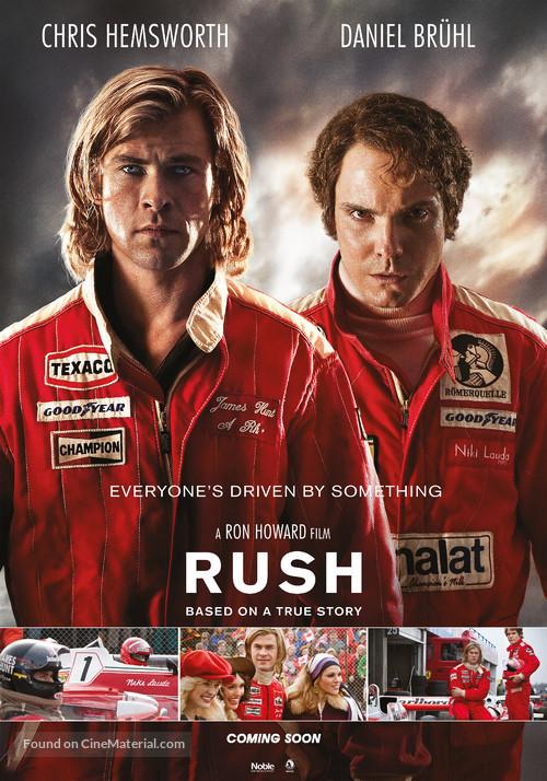 Rush - Danish Movie Poster
