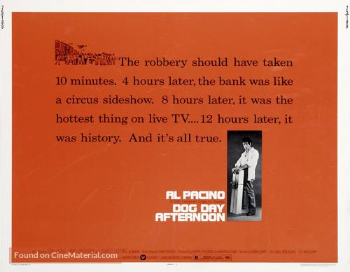 Dog Day Afternoon - Movie Poster