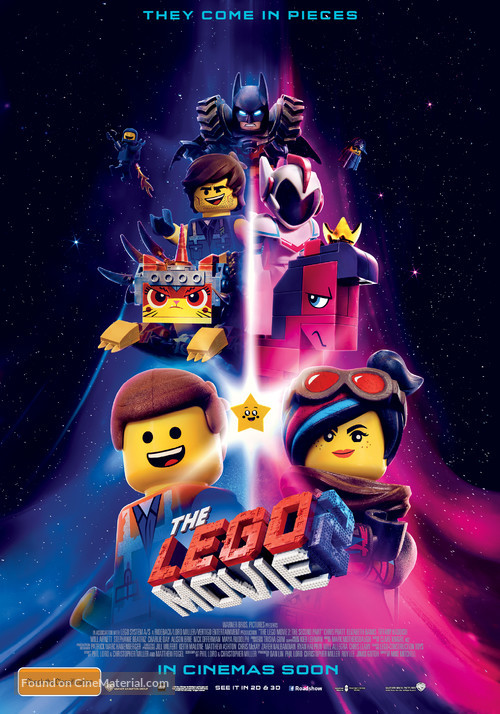 The Lego Movie 2: The Second Part - Australian Movie Poster