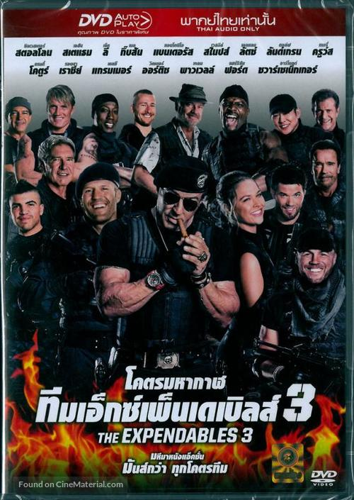 The Expendables 3 - Thai Movie Cover