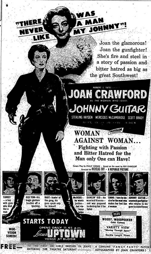 Johnny Guitar - poster