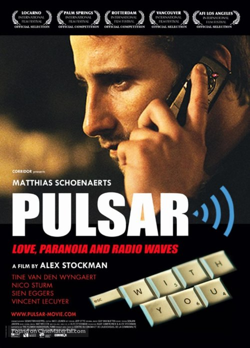 Pulsar - Belgian Movie Poster