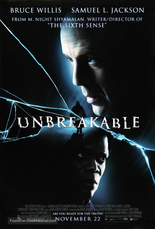 Unbreakable - Movie Poster