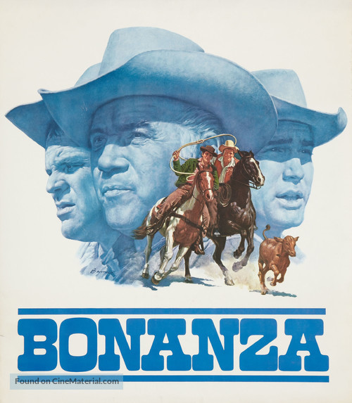 """""""Bonanza"""" - Movie Poster"""