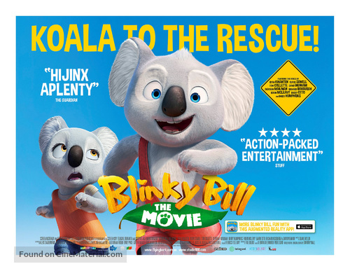 Blinky Bill the Movie - British Movie Poster