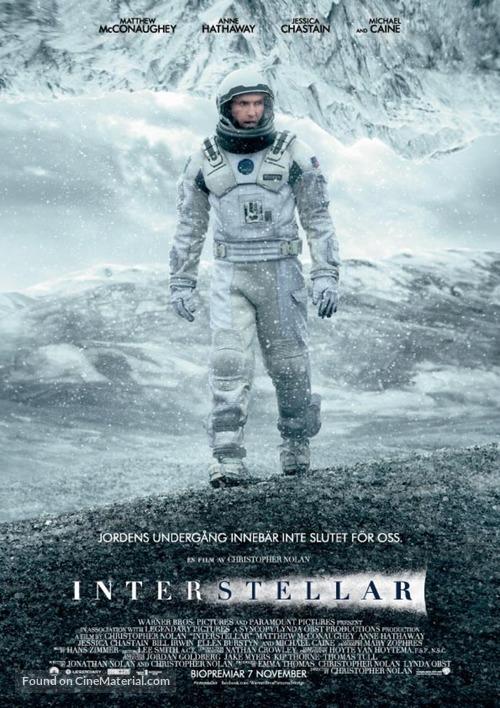 Interstellar - Swedish Movie Poster