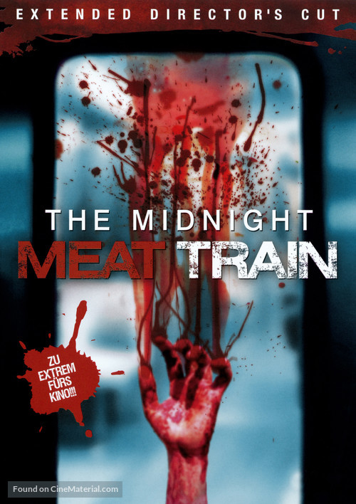 The Midnight Meat Train - German DVD cover