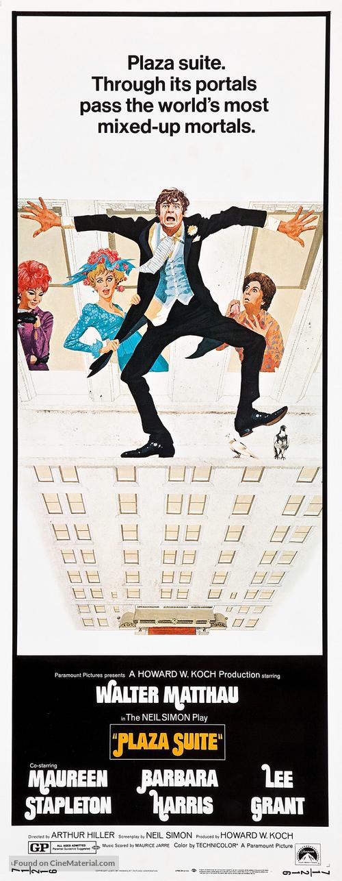 Plaza Suite - Movie Poster