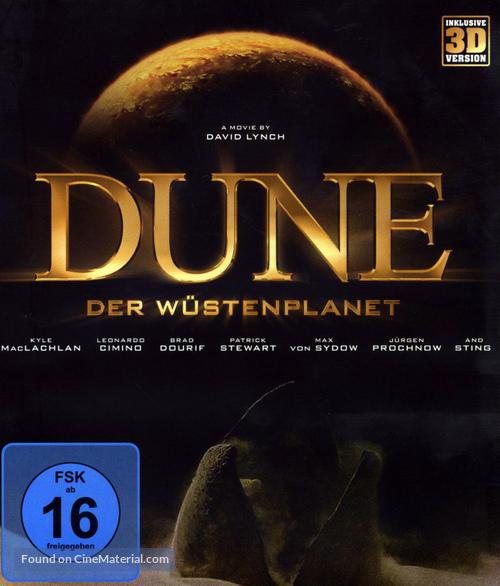 Dune - German Blu-Ray movie cover