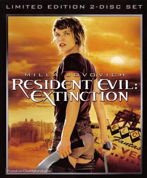 Resident Evil: Extinction - Movie Cover