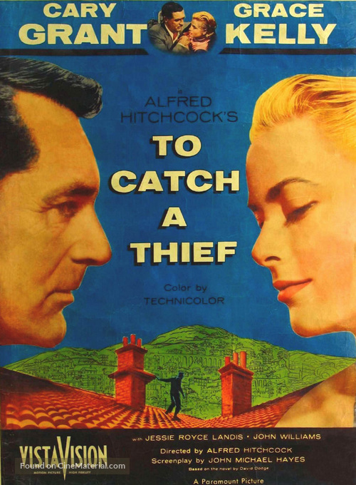 To Catch a Thief - Movie Poster