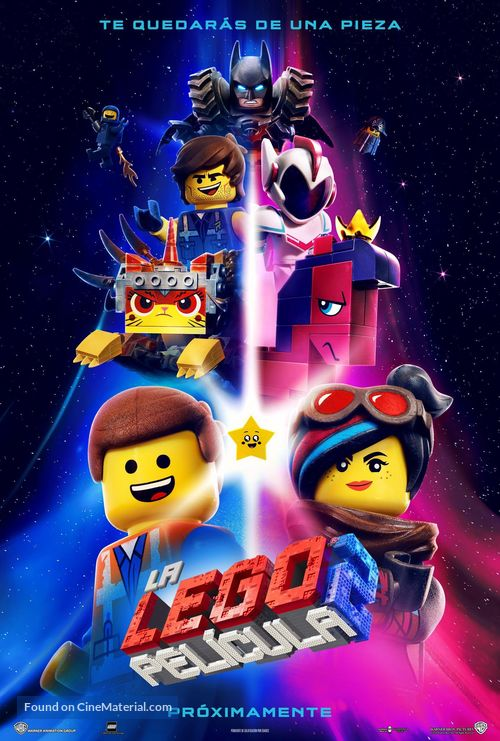 The Lego Movie 2: The Second Part - Spanish Movie Poster